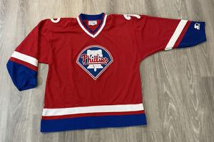 Philadelphia Phillies Starter Hockey Jersey MLB Nataional League Men's Size XL