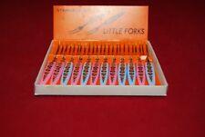 Little Forks Boxed set of 12.Ideal for Cocktails/Olives or Tapas