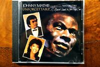 Unforgettable - A Musical Tribute To Nat King Cole, Mathis & Cole  - CD, VG