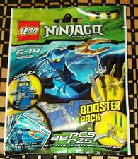 NEW Lego NINJAGO THE SNAKES Jay ZX 9553 Spinner Booster Pack