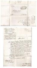 B176) ROMAGNE 1848 OSTELLATO COMANDO GUARDIA CIVICA.