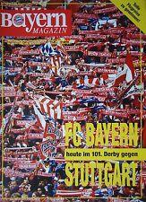 Programm 1992/93 FC Bayern München - VfB Stuttgart