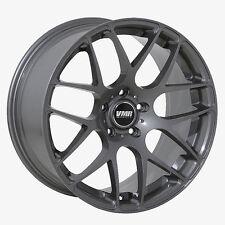 19x8.5 VMR Rims V710 CUSTOM ET45 Gunmetal Wheels (Set of 4)