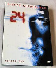 24 - Temporada 1 DVD, 2009 , 6 Discos Set acción aventura EEUU