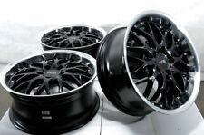 17 Wheels Audi A4 A5 A6 Q3 Mercedes E320 E350 E550 Cooper VW CC Eos Black Rims
