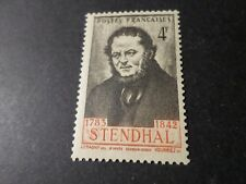 FRANCE 1942, timbre 550, STENDHAL, HENRI BEYLE, neuf**, MNH
