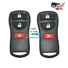 2 Keyless Entry Remote Key Fob Control Replacement For KBRASTU15