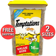 Classic Soft Cat Snack Treats for Adult Cats Tasty Chicken Flavor Food Topper Oz