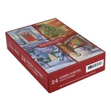 Image Arts 24-Count Home For The Holidays Assorted Christmas Cards