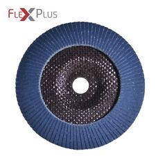 Fächerschleifscheiben Ø115mm K120 - Schleifmopteller Flapdisc Zirkonkorund AO