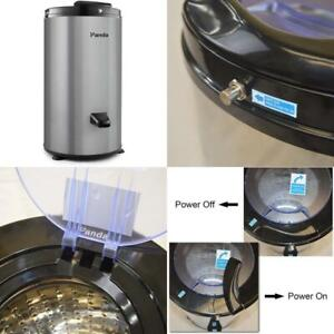 0.6 Cu. Ft. 120-Volt GrayElectric Stainless Steel Portable Spin Dryer, 3200 Rp