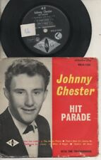 """JOHNNY CHESTER WITH THE THUNDERBIRDS   Rare 1962 Oz Only 7"""" P/C EP """"Hit Parade"""""""