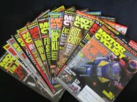 1995 MOTOR CYCLIST MAGAZINE LOT 12 Full Year Motorcycles BIKES Race Records BMW