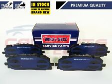 FOR AUDI Q7 4MB 2.0 3.0 2015- FRONT BORG & BECK PREMIUM BRAKE PADS BRAND NEW