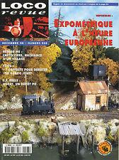 LOCO REVUE 598 DE 1996. COMMENT FAIRE UNE 1-232 TC EN HO AVEC FLEISCHMANN