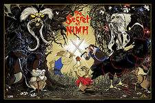The Secret Of Nimh Movie Screen Print Poster by Mark Lone