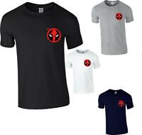Deadpool T-Shirt Superhero Marvel Comics Action Adventure Gift Adult Kids Top