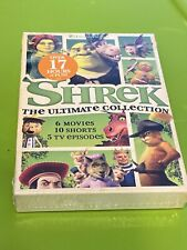 Shrek The Ultimate Collection 6 Movies,10 Shorts,5 Tv Episodes (Dvd w/Slip) New