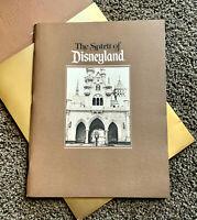 Disney Cast Exclusive Spirit of Disneyland 1985 Anniversary Book 30th Park Anniv