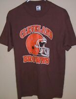 vintage 1980s Cleveland Browns NFL football t shirt X-Large