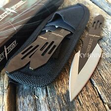 "3 Pc 5.5"" Ninja Tactical Combat Throwing Knife Set w/Sheath Hunting RC-595-3"