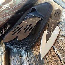 "3 Pc 5.5"" Ninja Tactical Combat Throwing Knife Set w/Sheath Hunting RC-595-3 -W"