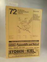 Amtliches Fernsprechbuch 72: Bereiche Lübeck, Bad Segeberg, Kaltenkirchen, Ahren