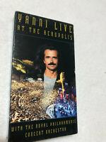 YANNI LIVE AT THE ACROPOLIS VHS