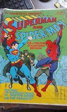 SUPERMAN SPIDERMAN WORLD WITHOUT COMICS LARGE LOT