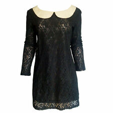 Lace Collared Long Sleeve Tops & Blouses for Women