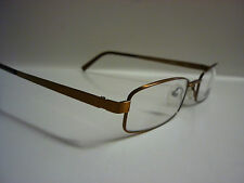 Mens Gents Spectacles Glasses Frames Eyeglasses E40180-1 Copper Brown Ref G047