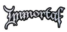 IMMORTAL - Patch Aufnäher - logo cut 2x14cm