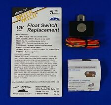 Water Witch 12 volt Electronic Bilge Pump Float Switch 12v Boat - BS59