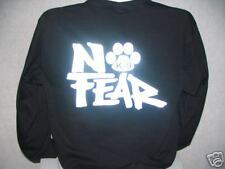 No Fear Reflective K-9 Long Sleeve T-Shirt, No Fear, LG