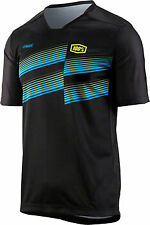 100% Airmatic Men's MTB Jersey: Black XL