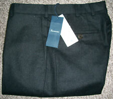 FACONNABLE Premium 100% Wool Gray Dress Pants NWT 29x38 Unfinished $350