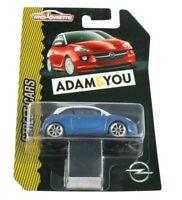 OPEL ADAM ARDENBLAU - WEISS Modellauto Spielzeugauto 1:55   OC10888