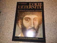 1977.L'oeil et éternité.Portraits romains d'Egypte.Berger