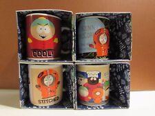 Four South Park Coffee,Tea Ceramic Mugs Comedy Central Animated Downpace LTD UK