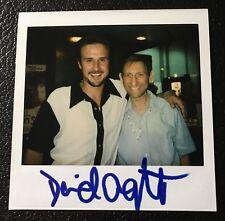 David Arquette Signed Polaroid Original Photo Snapshot Autograph Will Pass PSA