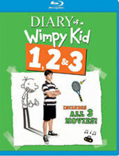 Diary Of A Wimpy Kid 1 & 2 & 3 (2014, Blu-ray NEW)