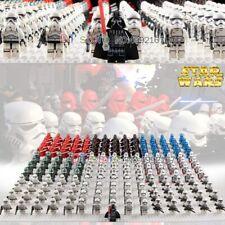 SET 21PCS Star Wars Clone Trooper Commander Darth Vader Rex Minifigure Fits Lego