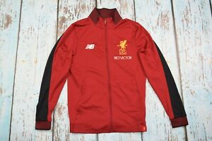 liverpool  track zip jacket new balance S small red 125 years betvictor lfc