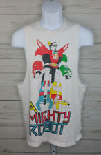 Local Celebrity Voltron Mens White Tank Top Shirt Size Medium