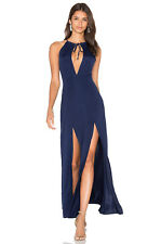 BNWT WYLDR Out of my League navy  Maxi Bodycon sheath Dress Party/Prom