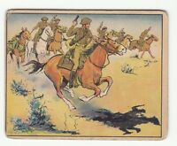 "[61909] 1941 UNCLE SAM SOLDIER CARD #54 ""CAVALRY CHARGE"" (GUM INC.)"