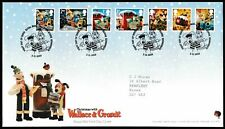 Royal Mail First Day Cover - Christmas 2010 with Wallace and Gromit (10959)