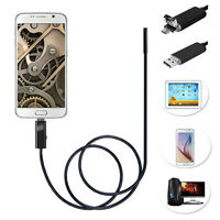 6LED 720P Micro USB Endoscope Snake Tube Camera Scope For Android Phone Pad