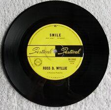 "Ross D. Wyllie Smile 1969 Rock Pop Classic 7"" 45 rpm Vinyl Single Record"