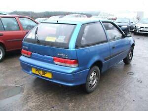 Suzuki Swift Mk1 SF 00-04 3dr O/S Rear Drivers Quarter Side Glass Window 0335340